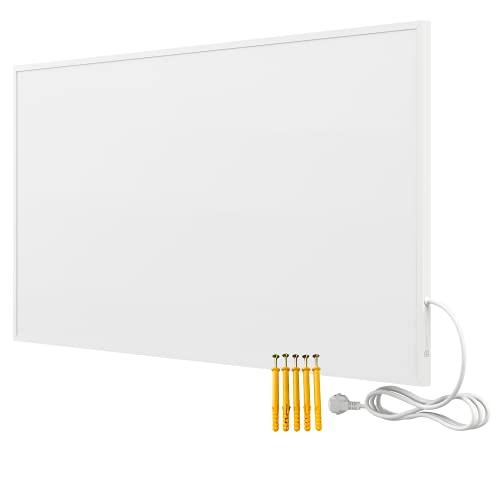 Bringer Infrarotheizung Infrarot Wandheizung Heizung Heizkörper Thermostat (1000 Watt, Heizplatte ohne Zubehör)