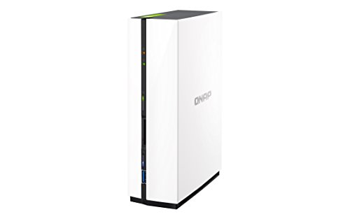 QNAP TS-128 2TB (1 x 2TB WD RED) 1 Bay Desktop NAS Einheit