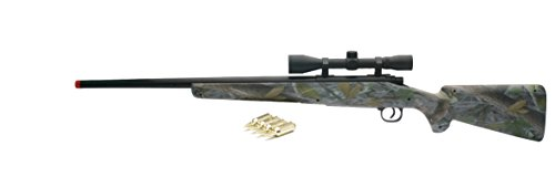 New-Ray Real Camo Single Barrel with Scope, Green