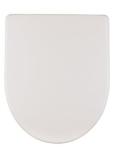 Geberit WC-Sitz Renova Nr. 1 Plan (Farbe weiß, mit Deckel, Befestigung aus Metall) 573070000