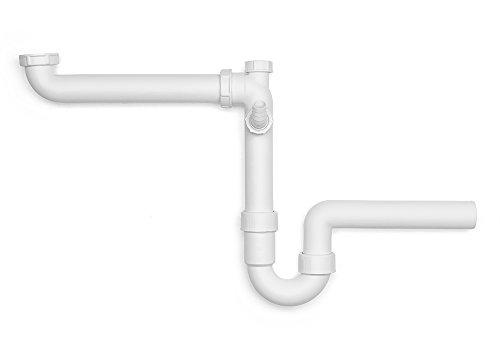 Viega 104054 Raumschaffer Röhrengeruchverschluss Modell 7850 Anschluss 1 1/2 Zoll, Abgang 50 mm
