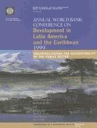 Annual World Bank Conference on Development in Latin America and the Caribbean 1999: Decentralization and Accountability of the Public Sector