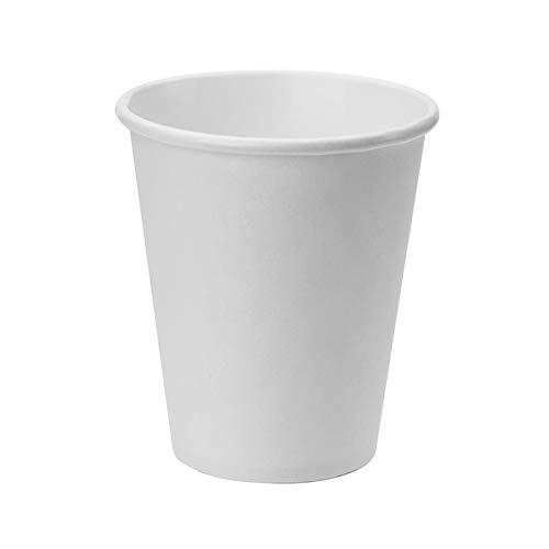 Tecnopacking Blanco Caja de 1000 Vasos Papel 12 OZ. (360 ML, Grande
