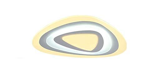 Woward Premium LED Deckenleuchte ER-78114 aus Plexiglas mit Fernbedienung | 100W | Lichtfarbe und Helligkeit dimmbar