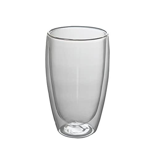 Prettyia Tazas de Vidrio Transparente Resistentes Al Calor de Doble Pared para Expreso