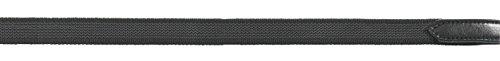 Zügel ANTISLIP-DRESSUR, ohne Stege, Warmblut, schwarz