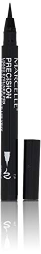 Marcelle Precision Liquid Eyeliner Pen, Intense Black, Hypoallergenic and Fragrance-Free, 0.04 fl oz