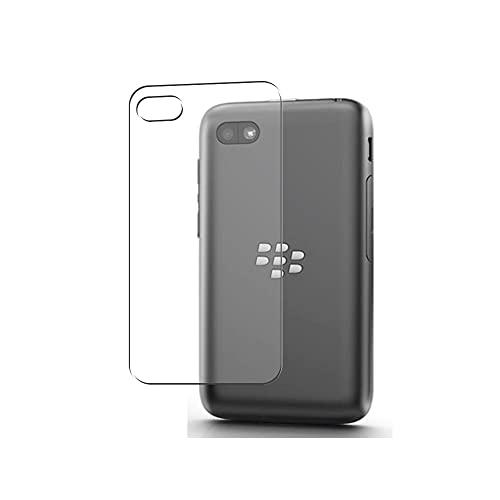 Vaxson 2 Stück Rückseite Schutzfolie, kompatibel mit BlackBerry Q5, Backcover Skin TPU Folie [nicht Panzerglas/nicht Front Bildschirmschutzfolie]