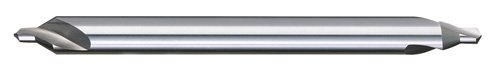 """Titan CS50034 Combined Drill and Countersink, High Speed Steel, Long Length, 60 Degree Angle, 3 x 4"""" Size, 7/64"""" Drill Diameter, 1/4"""" Body Diameter"""