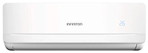 INFINITON Aire Acondicionado Split 3720MU (A++, Inverter, Gas R32, WiFi, Deshumidificador, Funcion Eco, i-Clean) (3500 FRIGORIAS)