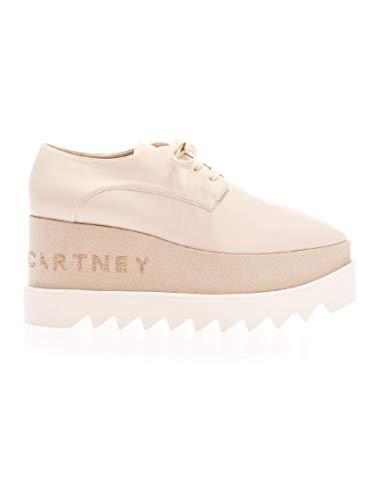Moda De Lujo | Stella Mccartney Mujer 800004W0YG09050 Rosa Cuero Zapatos De Cordones | Ss21