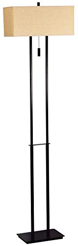 Kenroy Home Kenroy 30817BRZ Contemporary Modern Two Light Floor Lamp from Emilio collection in Bronze/Dark finish, 16.00 inches