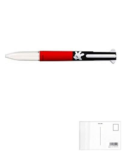 三菱鉛筆 スタイルフィット5色ホルダー ディズニー ミッキーグローブ UE5H308DS.MG 【5本】 + 画材屋ドットコム ポストカードA