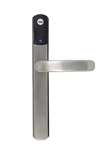 Yale SD-L1000-SN Conexis L1 Smart Door, App Control, Key/Phone Tags, Remote Lock/Unlock, Satin Nickel Finish