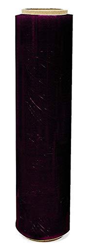 St@llion 24 STRONG ROLLS BLACK PALLET STRETCH SHRINK WRAP CAST PARCEL PACKING CLING FILM (WIDTH: 400MM)