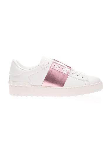 Valentino Luxury Fashion Garavani Damen TW2S0781FLR834 Weiss Leder Sneakers | Frühling Sommer 20