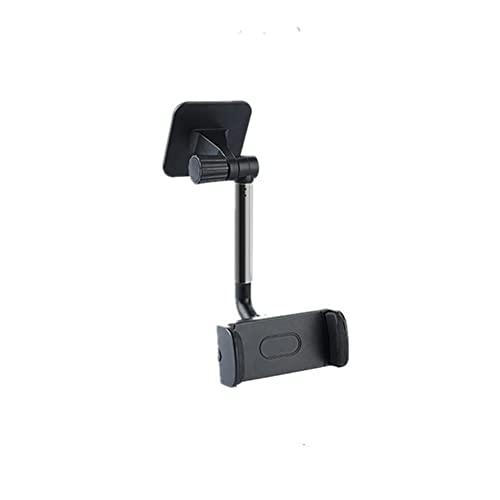 UKKD Soporte movil para Coche Soporte De Teléfono con Tablero De Tablero Móvil Soporta Teléfonos Inteligentes Instalados En El Clip del Soporte del Parabrisas del Automóvil-Black