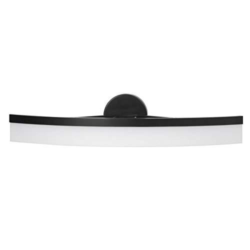 allen + roth Lynnpark 1-Light Black Modern/Contemporary Vanity Light Bar