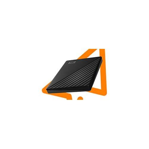 WD My Passport Hard Disk Portatile con Protezione Tramite Password e Software di Backup Automatico, Compatibile con PC, Xbox e PS4, 1TB, Nero