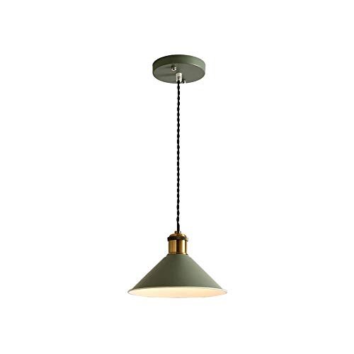 Luz colgante moderna Chandelier de cabeza soltero ajustable Chandelier de hierro forjado E27 Lámpara de luz cálida Café Barra de dormitorio Restaurante Decoración de techo Lámpara de techo Línea de pe