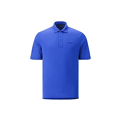 Chervo AGILENEW - Polo da golf da uomo, taglia 48, colore: Blu pacifico