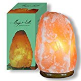 MAGIC SALT LIGHTING FOR YOUR SOUL-Lámpara de Sal del Himalaya 2-3 kg con regulador y bombilla led.