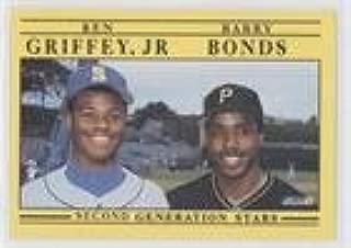 1991 fleer barry bonds