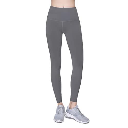 Pantalones de Yoga Anti-Sentadillas para Mujer, Pantalones Deportivos de Cintura Alta, Leggings, Pantalones de Fitness al Aire Libre, Pantalones de Yoga elásticos de Secado rápido H XL