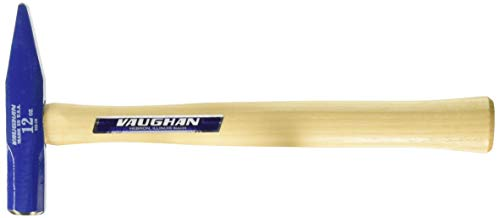 Vaughan 168-10 TR12 Tinner's Riveting Hammer with Hickory Handle, 12-Ounce Head