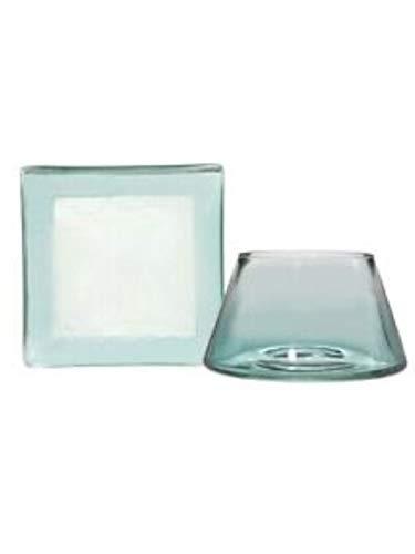 Yankee Candle Savoy - Pantalla de lámpara y plato (cristal, tamaño pequeño),...