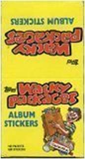 RARE 1986 Topps Wacky Packages Stickers Unopened Pack (5 Parody Stickers per pack, very limited test series)