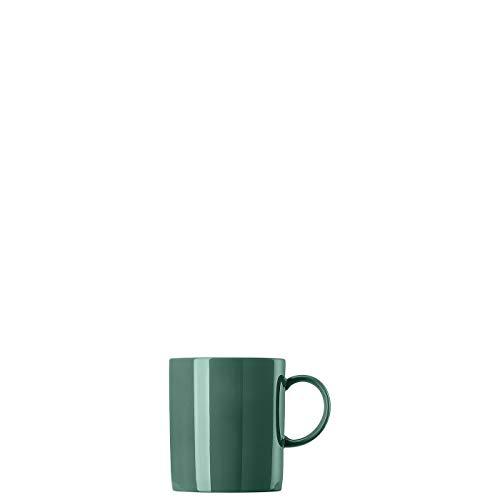 Thomas Rosenthal Sunny Day - Herbal Green - Becher mit Henkel - Henkelbecher - Kaffeebecher - Porzellan - grün