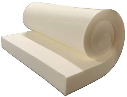 Dream Solutions USA Upholstery Visco Memory Foam Sheet- 3.5 lb High Density 1'Hx15'x30'- Luxury Quality for Squishy Toy, Sofa, Chair Cushion, Pillow, May Relieve Backaches, Bed Sores