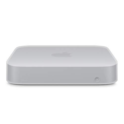 Capa de silicone elago Mac Mini – [resistente a choques] [de longa duração] [design recortado] – para Mac Mini 2018, White Translucent