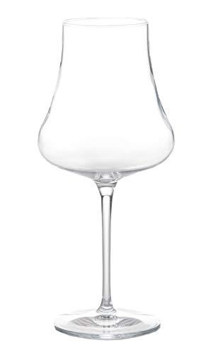 Luigi Bormioli 12501/01 Tentazioni - Calici da vino bianco Chardonnay, 16 ml, colore: Trasparente