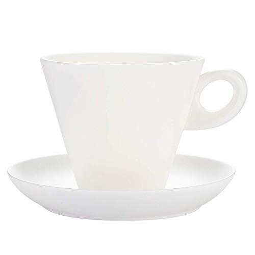 Tazas Para Bebidas Taza Y Platillo De Café Blanco Personalidad Taza De Cerámica Creativa Taza De Café De Porcelana De Jade Simple Muy Adecuada Para Bebidas De Café Especiales Y Tazas De Café De Té