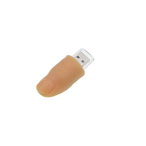 Kepmem Pennetta USB 2.0 16 GB Divertimento Dito Forma Archivio Dati Chiavetta USB Pen