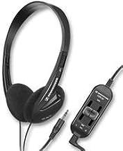 Sennheiser HD 35 TV - Auriculares de diadema abiertos, negro