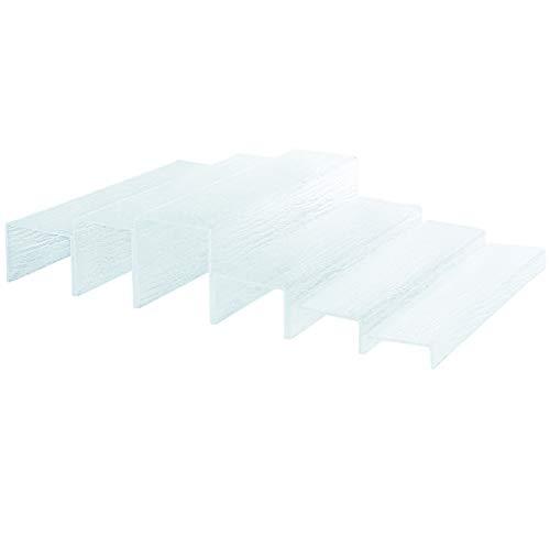 PEGANE Présentoir Module escalier - 40 x 11 x 12 cm