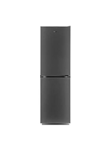 CANDY CMCL 5172SKN Freestanding Fridge Freezer, Low Frost, 253L Total Capacity, 55cm wide, Stainless Steel 34004438