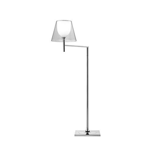 Lámpara de pie, colección Ktribe, versión Floor 1, 100W, 25 x 37 x 112 centímetros, color cromo (referencia: F6265000)