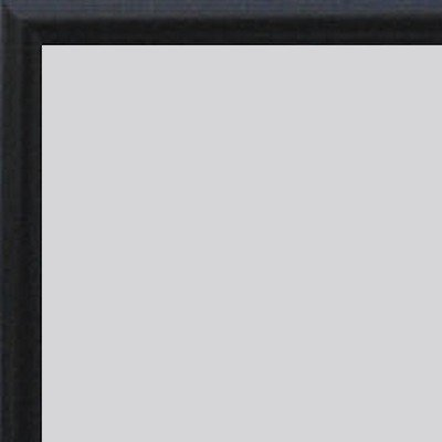 Home Decoration kampen aluminium fotolijst posterlijst 30 x 64 Verglasung: Acrylglas Antireflex 1 mm zwart hoogglans