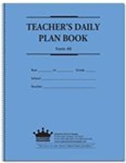 Teachers Daily Plan Book