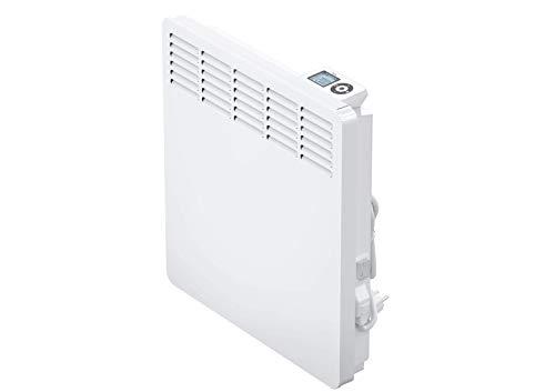 AEG casa Technik 236533parete Termoconvettore WKL 1005per circa 10m², Riscaldamento 1000W, 5–30gradi C, da appendere a parete, Display LCD, Timer settimanale, Metallo, colore: bianco