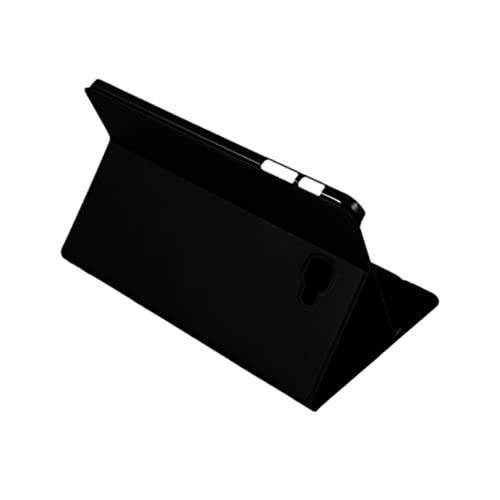 Silver HT - Funda para Samsung Galaxy Tab A de 10.1' (Tab A 10 SM-T580 y SM-T585) Negro