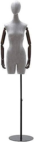 High order YHQKJ Female Tailors Dummy Cheap Height Mannequin Adjustable Dressform