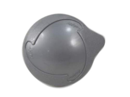 """Cal Spa Silver Diverter Handle 3 7/8"""" Wide Teardrop Knob Style How to Video"""