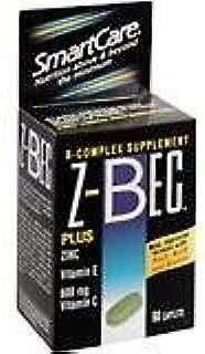 Z-Bec Inverness Medical Inc. Z - Bec Tablets Plus Zinc Complete B-Complex Supplement Tablets - 60 Tablets by Z-Bec