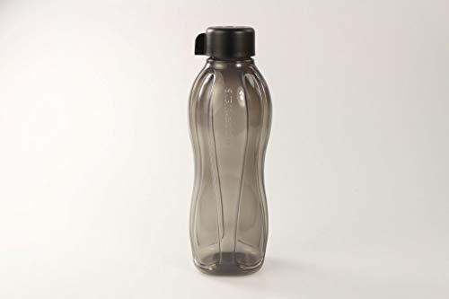 Tupperware to Go Eco 1,0L schwarz DREHVERSCHLUSS Trinkflasche EcoEasy Ökoflasche