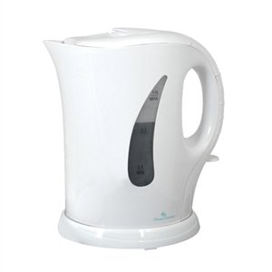 1 Litre Cordless Kettle in White by LLOYTRON